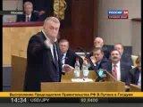 В. В. Жириновский в Гос. Думе 20.04.10.